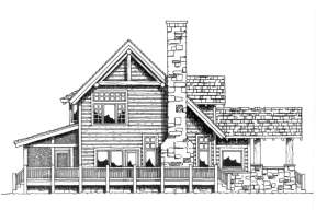 Cabin House Plan #1907-00014 Additional Photo