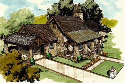 3 Bed, 2 Bath, 1776 Square Foot House Plan - #1907-00015