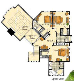 Floorplan 2 for House Plan #1907-00016