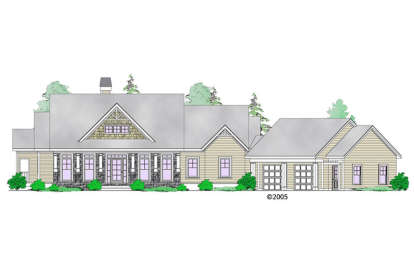 1 Bed, 1 Bath, 1832 Square Foot House Plan - #957-00061