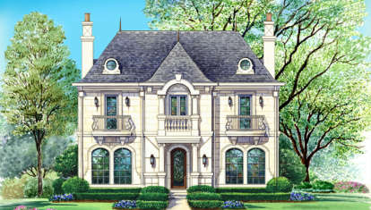 4 Bed, 4 Bath, 5764 Square Foot House Plan - #5445-00209