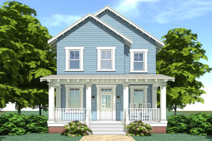 3 Bed, 2 Bath, 2080 Square Foot House Plan #028-00113