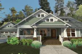 Bungalow  House Plan #9401-00086 Elevation Photo