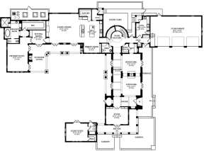 Floorplan 1 for House Plan #3978-00005