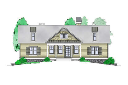 1 Bed, 1 Bath, 1228 Square Foot House Plan - #957-00068