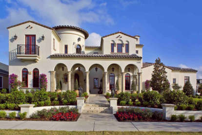 6 Bed, 5 Bath, 6493 Square Foot House Plan - #3978-00006