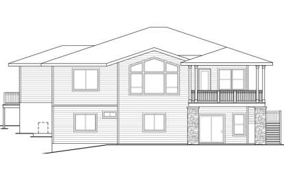 Craftsman House Plan #035-00652 Elevation Photo