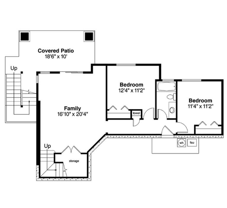 Floorplan 2 for House Plan #035-00652