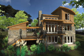Mountain House Plan #9401-00089 Elevation Photo