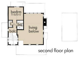 Floorplan 2 for House Plan #9401-00089
