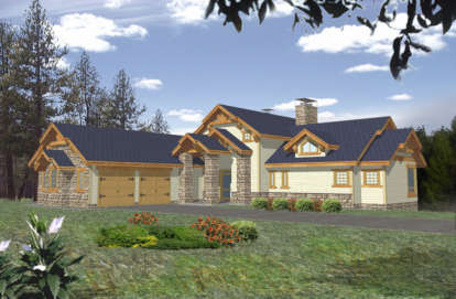 3 Bed, 3 Bath, 3650 Square Foot House Plan - #039-00337