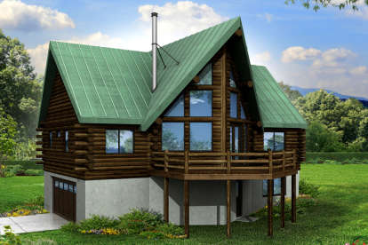 2 Bed, 2 Bath, 1568 Square Foot House Plan #035-00668