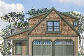 House Plan #035-00677 Elevation Photo