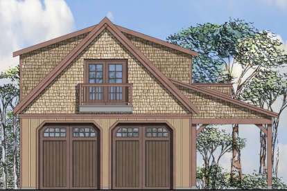 0 Bed, 0 Bath, 1734 Square Foot House Plan #035-00678
