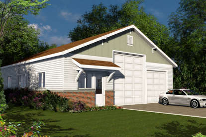 0 Bed, 0 Bath, 2000 Square Foot House Plan - #035-00679
