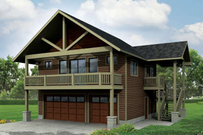 1 Bed, 1 Bath, 1792 Square Foot House Plan - #035-00683
