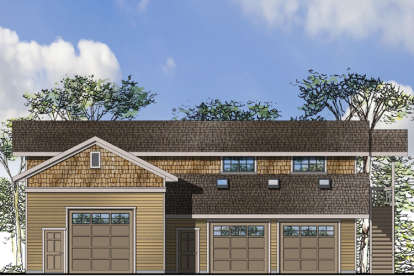 0 Bed, 1 Bath, 2573 Square Foot House Plan - #035-00684