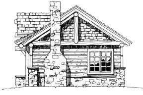 Cabin House Plan #1907-00018 Additional Photo