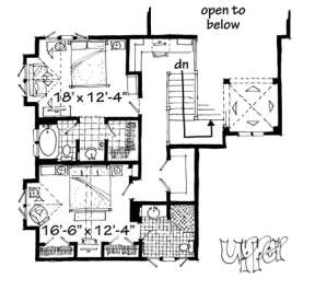 Floorplan 2 for House Plan #1907-00019