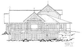 Mountain House Plan #1907-00019 Additional Photo
