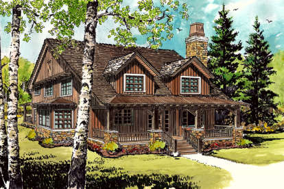 3 Bed, 2 Bath, 1825 Square Foot House Plan - #1907-00020