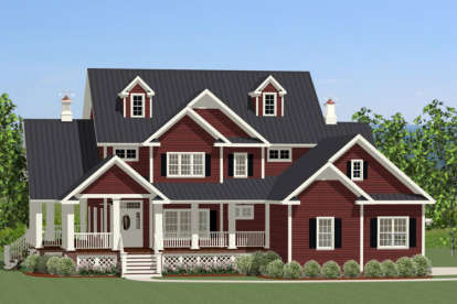3 Bed, 2 Bath, 2971 Square Foot House Plan - #6849-00019