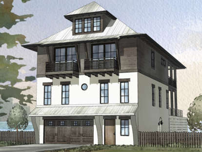 4 Bed, 3 Bath, 2810 Square Foot House Plan - #1637-00106