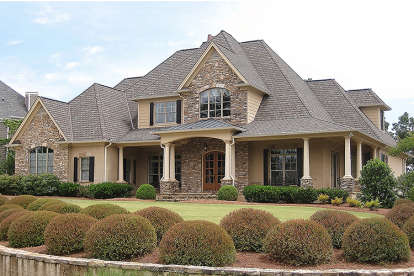 5 Bed, 4 Bath, 3187 Square Foot House Plan - #286-00055