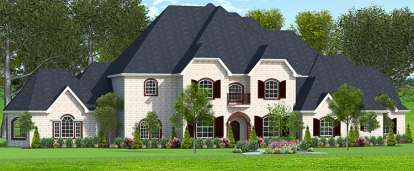4 Bed, 4 Bath, 5578 Square Foot House Plan #9940-00001