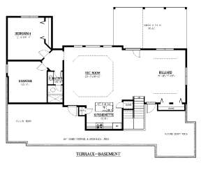 Optional Basement for House Plan #286-00056