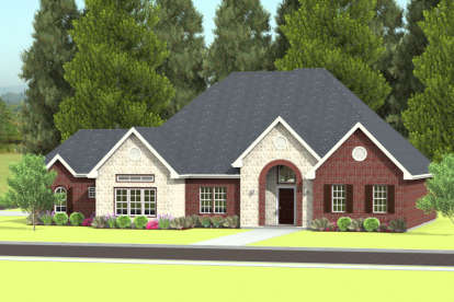3 Bed, 2 Bath, 2370 Square Foot House Plan #9940-00006