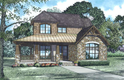 3 Bed, 2 Bath, 3041 Square Foot House Plan - #110-01024