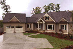 Mountain House Plan #286-00061 Elevation Photo