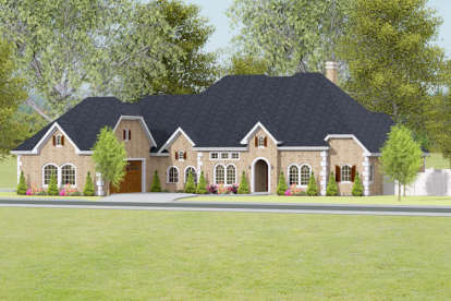 3 Bed, 3 Bath, 3219 Square Foot House Plan - #9940-00008