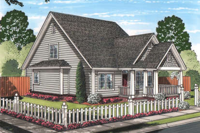 4 Bed, 4 Bath, 1940 Square Foot House Plan - #4848-00331