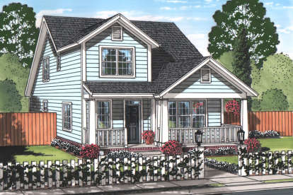 4 Bed, 3 Bath, 2232 Square Foot House Plan - #4848-00333
