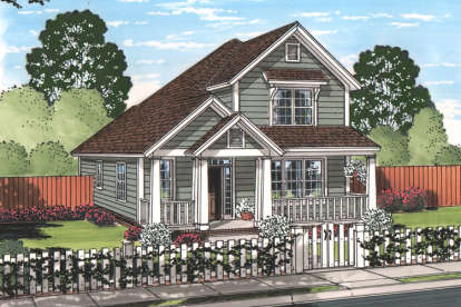 3 Bed, 2 Bath, 1860 Square Foot House Plan - #4848-00336