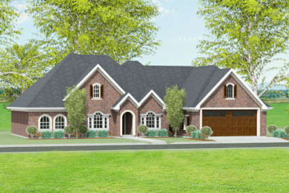 3 Bed, 2 Bath, 2142 Square Foot House Plan #9940-00009