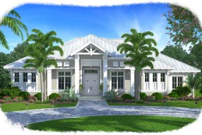 3 Bed, 3 Bath, 3231 Square Foot House Plan - #1018-00216