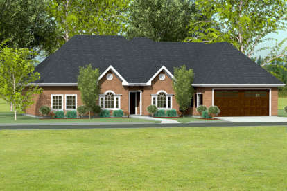 3 Bed, 2 Bath, 2142 Square Foot House Plan #9940-00010