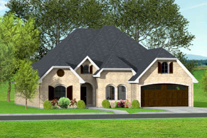 3 Bed, 2 Bath, 2065 Square Foot House Plan #9940-00011