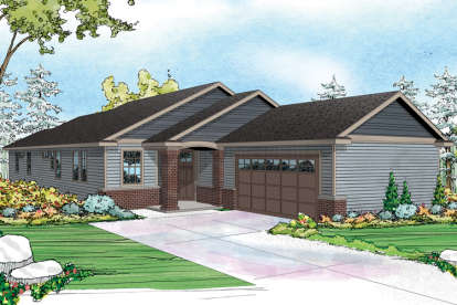 3 Bed, 2 Bath, 2192 Square Foot House Plan - #035-00700