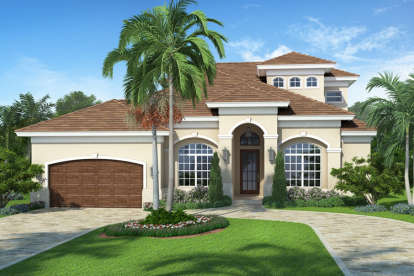 5 Bed, 4 Bath, 2716 Square Foot House Plan - #207-00006