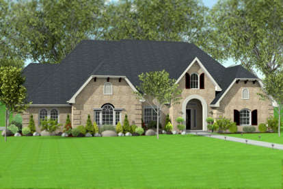 4 Bed, 3 Bath, 2988 Square Foot House Plan - #9940-00013