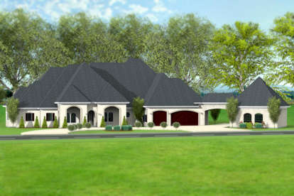 4 Bed, 3 Bath, 4815 Square Foot House Plan #9940-00015