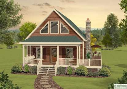 3 Bed, 2 Bath, 1592 Square Foot House Plan - #036-00183