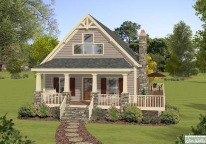 3 Bed, 2 Bath, 1592 Square Foot House Plan - #036-00184