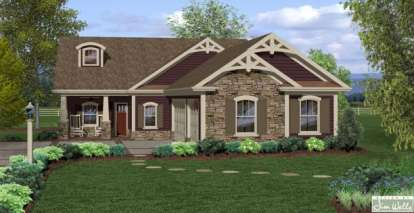 3 Bed, 2 Bath, 1793 Square Foot House Plan - #036-00200
