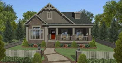 4 Bed, 2 Bath, 1779 Square Foot House Plan - #036-00201