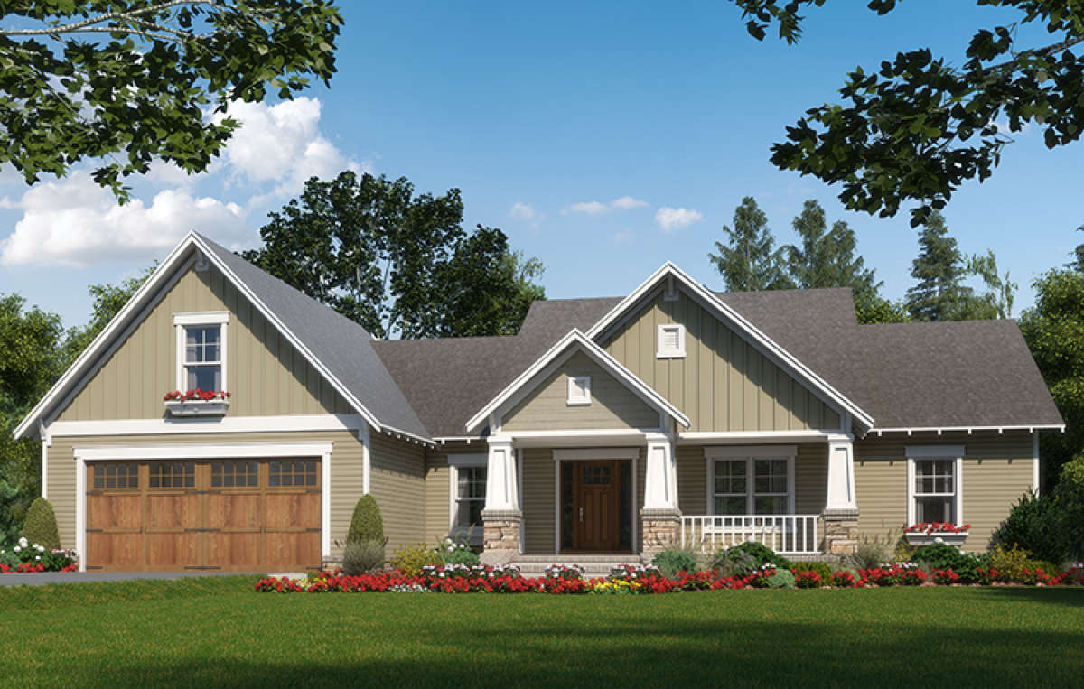 Cottage Plan 2 023 Square Feet 3 Bedrooms 2 5 Bathrooms